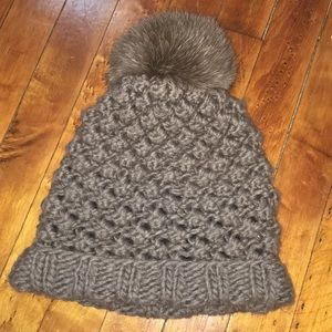 Kyi Kyi Canada Brown Winter Hat One Size